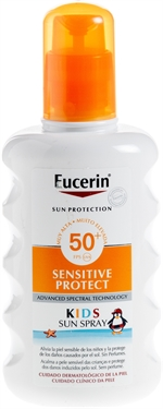 EUCERIN Sensitive Protect Kids Sun Spray SPF 50+ | Protetores solares: o teste