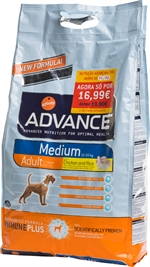 AFFINITY Advance Medium Adult Chicken and Rice | Ração para cão | Lista de resultados | Testes DECO PROTESTE